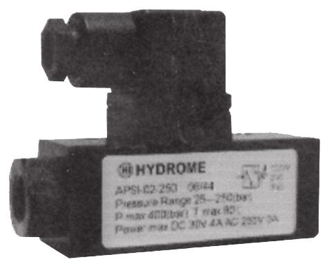 APSI, APSL Miniature Pressure Switch