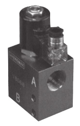 HV6068 Cartridge Solenoid Operated Check Valve with Body