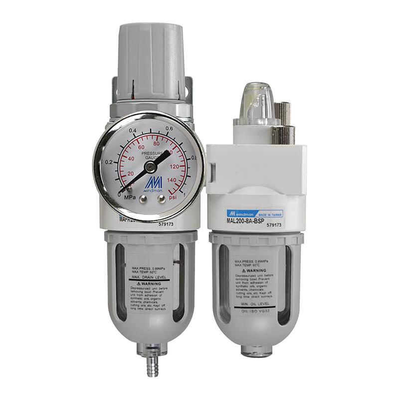 MACP200 Filter, Pressure Regulator, Lubricator Unit
