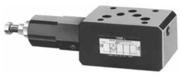 MBP, MBA, MBB, MBW-03 Relief Modular Valves