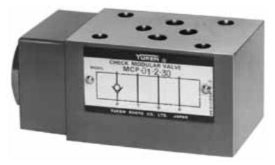 MCP, MCT-01 Check Modular Valves
