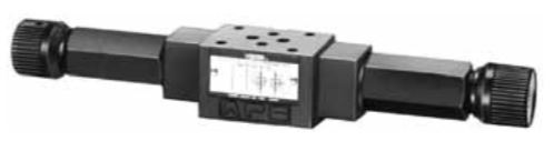 MFP, MFA, MFB, MFW-01 Pressure and Temperature Compensated Flow Control and Check Modular Valves