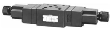 MFP, MFA, MFB, MFW-03 Pressure and Temperature Compensated Flow Control and Check Modular Valves