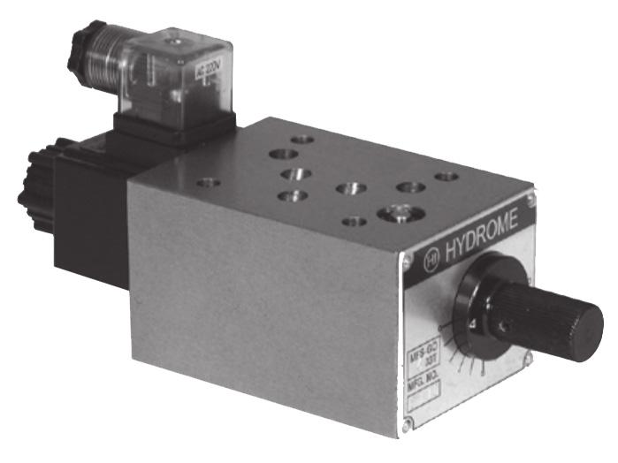 MFS-GO Modular Solenoid Flow Control Valves
