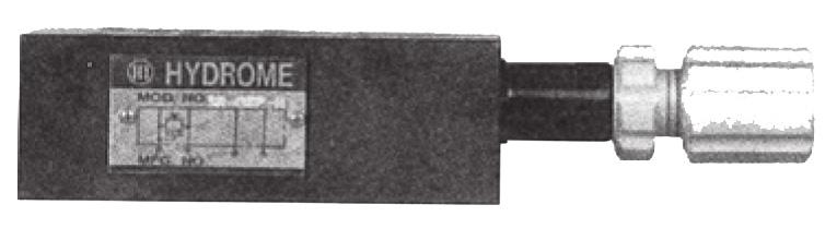MRV-02 Modular Brake Valve