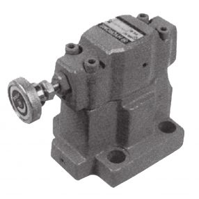 BSG Solenoid Controlled Pilot Operated Relief Valve (Subplate Mounting)