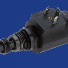 01. VEP-...-40-...-34UNF-... Solenoid Pilot Operated Valve, Poppet 2-Way Cartridge Style