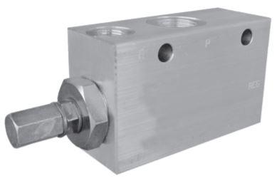 VRPC-150 Pressure Reducing Pilot Operated Spool Type